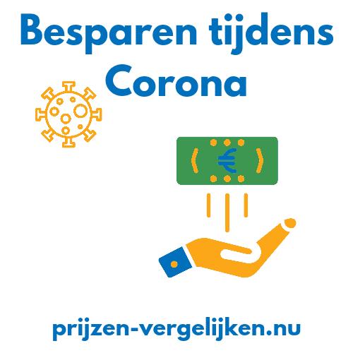 Besparen tijdens Corona