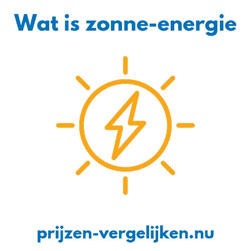 Wat is zonne-energie