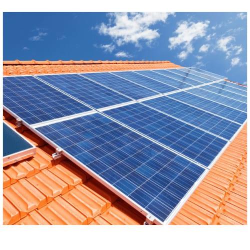 Dak geschikt voor zonnepanelen
